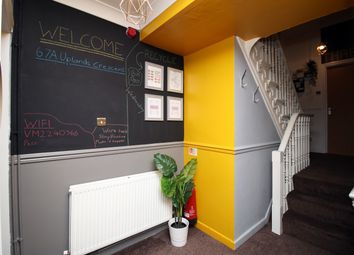 Thumbnail 8 bed shared accommodation to rent in 67A Uplands Crescent, Swansea, Uplands