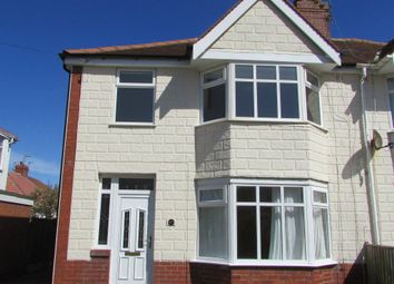 Thumbnail 3 bed property to rent in Leicester Avenue, Thornton-Cleveleys