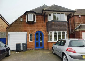 Thumbnail 4 bed detached house to rent in Queens Road, Yardley