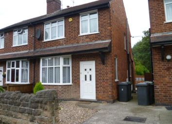 Thumbnail 3 bed semi-detached house to rent in Carisbrooke Avenue, Beeston, Nottingham