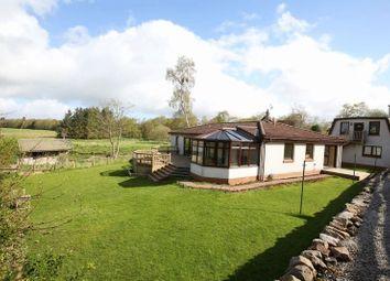 Thumbnail 4 bed detached bungalow for sale in Braeriach, Romanno Bridge, West Linton
