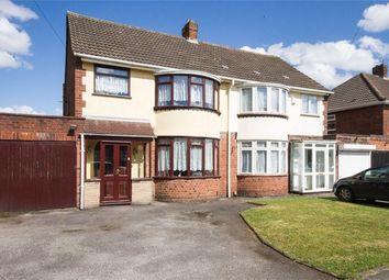 Thumbnail 2 bed semi-detached house for sale in Ridge Lane, Wednesfield, Wolverhampton, West Midlands