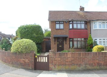 Thumbnail 3 bed semi-detached house for sale in Gray Gardens, South Hornchurch, Essex