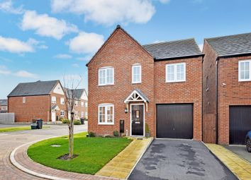 Thumbnail 4 bed detached house for sale in Green Howards Road, Saighton, Chester