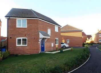 Thumbnail 3 bedroom detached house for sale in Attleborough, Norfolk