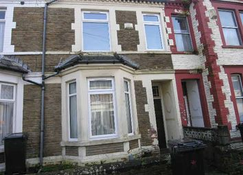 Thumbnail 3 bedroom terraced house to rent in Pearson Street, Roath