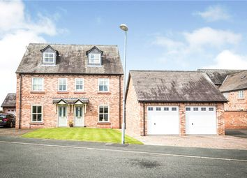 Thumbnail 4 bed semi-detached house for sale in Castle Gate, Holt, Wrexham