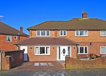 Thumbnail 4 bed semi-detached house for sale in Grange Farm Road, Ash