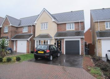 Thumbnail 3 bed detached house to rent in Darwin Close, Lee-On-The-Solent