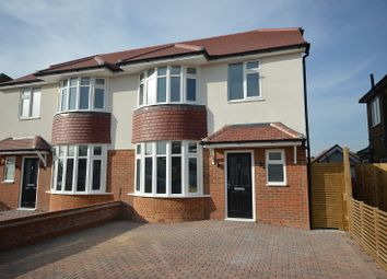Thumbnail 3 bed semi-detached house for sale in Amis Avenue, West Ewell, Surrey.