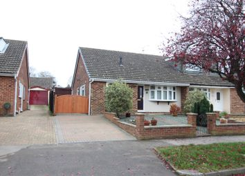 Thumbnail 2 bed semi-detached bungalow for sale in Goran Avenue, Stony Stratford, Milton Keynes