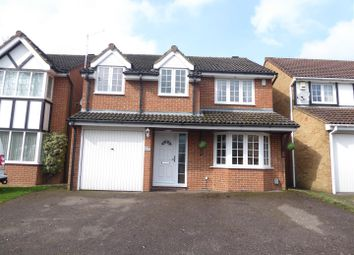 Thumbnail 4 bedroom detached house for sale in Crabtree Way, Dunstable