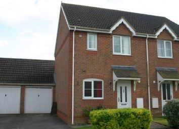 Thumbnail 2 bed semi-detached house for sale in Ramsbury Drive, Hungerford