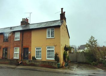 Thumbnail 3 bed end terrace house for sale in High Street, Sproughton, Ipswich
