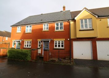 Thumbnail 3 bed terraced house for sale in Barle Court, Tiverton