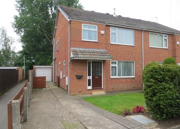 Thumbnail 4 bed semi-detached house to rent in Churchill Avenue, Cottingham, East Riding Of Yorkshire