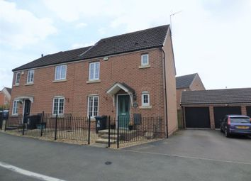 Thumbnail 3 bed end terrace house for sale in Valley Gardens Kingsway, Quedgeley, Gloucester