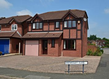 Thumbnail 4 bed detached house for sale in Knowesley Close, Parklands, Bromsgrove