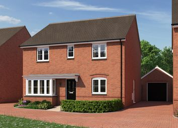 "Thumbnail 4 bed detached house for sale in ""The Pembroke"" at Moormead Road, Wroughton, Swindon"