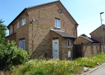 Thumbnail 2 bedroom terraced house for sale in Swale Avenue, Gunthorpe, Peterborough