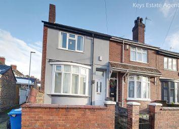 Thumbnail 2 bed end terrace house for sale in May Street, Burslem, Stoke-On-Trent