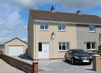 Thumbnail 3 bed semi-detached house for sale in 53 Springfield Crescent, Stranraer