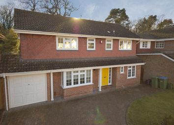 Thumbnail 4 bed detached house to rent in Trelawney Grove, Weybridge