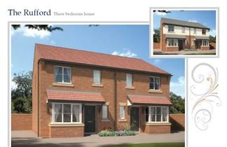 Thumbnail 3 bedroom semi-detached house for sale in Bluestone Meadow, Chester Road, Broughton