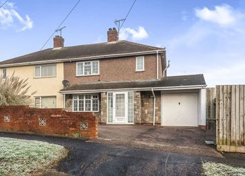Thumbnail 3 bed semi-detached house for sale in Attlee Crescent, Stafford