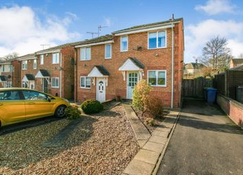 Thumbnail 2 bed semi-detached house for sale in Acacia Avenue, Hollingwood, Chesterfield, Derbyshire
