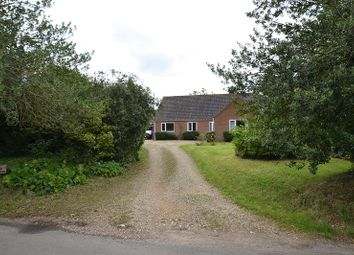 Thumbnail 4 bedroom bungalow for sale in Whitwell Road, Sparham, Norwich, Norfolk.