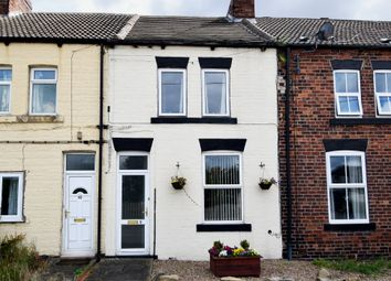 Thumbnail 2 bed terraced house for sale in Crossley Street, New Sharlston, Wakefield