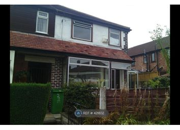 Thumbnail 2 bed end terrace house to rent in Brynford Avenue, Manchester