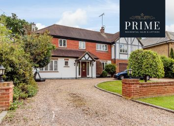 Thumbnail 5 bed detached house to rent in Oak Road, Cobham