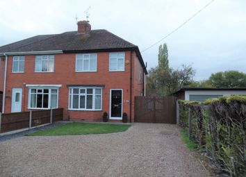 Thumbnail 4 bed semi-detached house to rent in Station Road, Branston, Lincoln