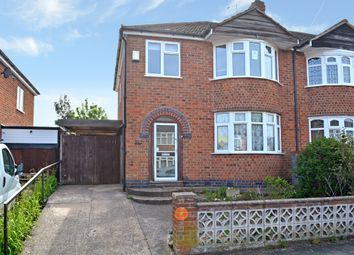 Thumbnail 3 bed semi-detached house for sale in Bradgate Drive, Wigston, Leciester