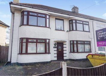 4 bed semi-detached house for sale in Masefield Avenue, Widnes WA8