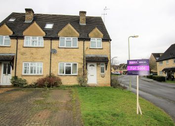 Thumbnail 3 bedroom semi-detached house for sale in Bourton Close, Witney