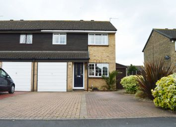 Thumbnail 3 bed semi-detached house for sale in Sunflower Way, Harold Wood, Romford
