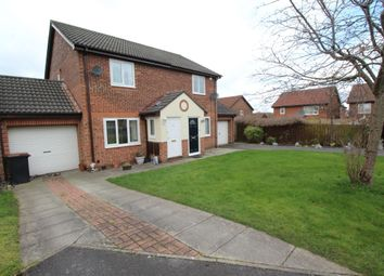 Thumbnail 2 bed semi-detached house to rent in Hatfield Close, Framwellgate Moor, Durham