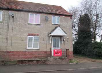 Thumbnail 3 bed semi-detached house to rent in Downham Road, Outwell, Wisbech