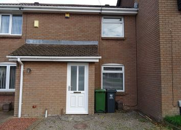 Thumbnail 2 bed terraced house for sale in Nant Y Plac, Drope, Cardiff.