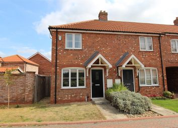 Thumbnail 2 bed end terrace house for sale in Cotswold Close, Cleethorpes