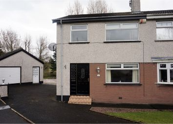 Thumbnail 3 bed semi-detached house for sale in Knockeen Crescent, Ballymena