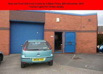 Thumbnail Light industrial for sale in Tower Works Industrial Estate, Pelham Street, Wolverhampton