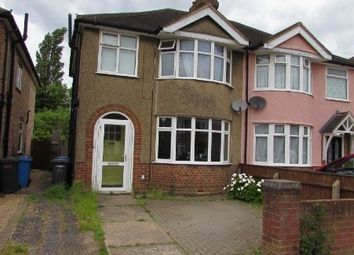 Thumbnail 3 bed semi-detached house to rent in Brunswick Road, East, Ipswich