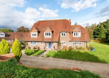 Thumbnail 6 bed detached house for sale in Casbrook Common, Braishfield, Romsey
