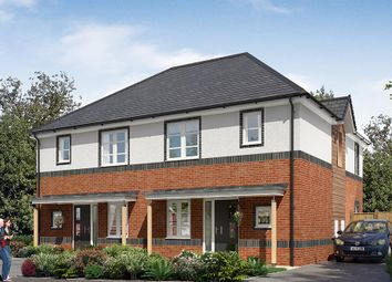 """Thumbnail 3 bedroom semi-detached house for sale in """"The Hamilton"""" at Dandy Mill Avenue, Pontefract"""