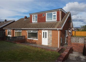 Thumbnail 4 bed semi-detached house for sale in Raglan Grove, Merthyr Tydfil