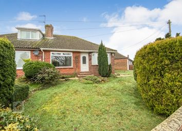 Thumbnail 2 bed semi-detached bungalow for sale in Eastern Crescent, Thorpe St. Andrew, Norwich